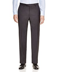 Hart Schaffner Marx Hart Shaffner Marx Platinum Label Classic Fit Trousers 100 Bloomingdale's Exclusive Charcoal