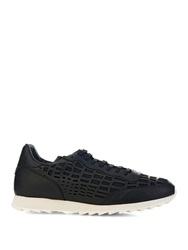 Alexander Mcqueen Laser Cut Saw Sole Trainers