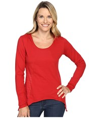Prana Lauriel Hoodie Sunwashed Red Women's Sweatshirt Pink