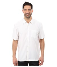 Quiksilver Waterman Clear Days 4 Traditional Polynosic Woven Top White Men's Clothing