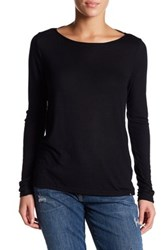 Volcom Lived In Rib Long Sleeve Shirt Black