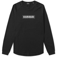 Napapijri Long Sleeve Simmy Tee Black