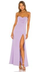 Nbd Spanish Moss Gown In Purple. Lilac