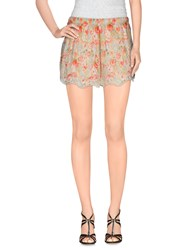 Red Soul Trousers Shorts Women Ivory
