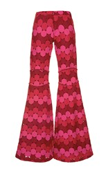 Alexis Maxime Flared Pants Print