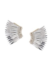 Mignonne Gavigan Beaded Earrings Grey