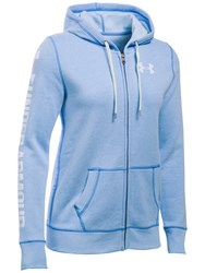Under Armour Favourite Fleece Full Zip Hoodie Blue