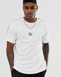 Puma Xtg Boxy Taping Tee In White