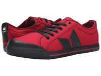Macbeth Eliot Vegan Red Black Skate Shoes