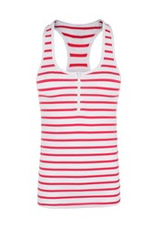Lorna Jane Candy Stripe Excel Tank Multi Coloured