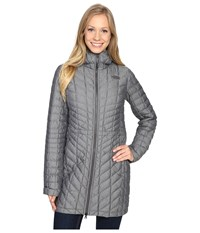 The North Face Thermoball Hooded Parka Tnf Medium Grey Heather Women's Coat Gray