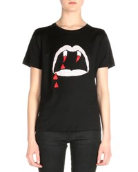 Saint Laurent Blood Luster Graphic Tee Black