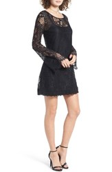 Band Of Gypsies Women's Lace Shift Dress