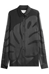 Maison Martin Margiela Maison Margiela Blouse With Silk Black
