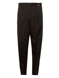 Edun Crepe De Chine Straight Leg Trousers