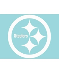 Wincraft Pittsburgh Steelers Die Cut 8' X 8' Decal White