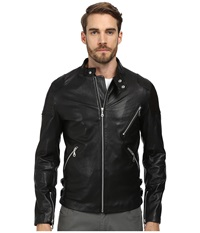 7 Diamonds Brando Jacket Black Men's Coat