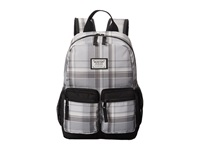 Burton Youth Gromlet Pack Impulse Plaid Backpack Bags Gray