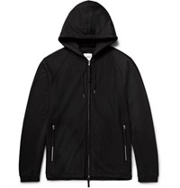 Takahiromiyashita Thesoloist Oversized Loopback Cotton Jersey Zip Up Hoodie Black