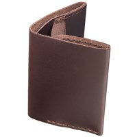 Bison Slim Bi Fold Wallet Brown