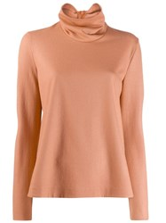 Forte Forte Turtleneck Top Orange
