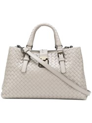 Bottega Veneta Small Roma Bag Grey