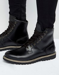 Timberland Britton Heel Lace Up Boots Black