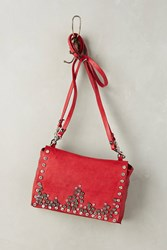 Anthropologie East And West Shoulder Bag Red