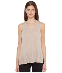 Project Social T James Tank Top Mink Women's Sleeveless Brown