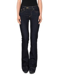 Red Valentino Redvalentino Denim Pants Blue
