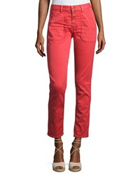 2a49e0e2765a Baandsh Ba Sh Cmarc High Rise Pants Red