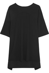 Diane Von Furstenberg Madera Crepe Mini Dress Black