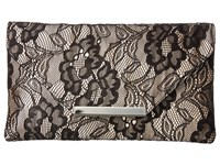 Jessica Mcclintock Riley Lace Envelope Clutch Black Clutch Handbags