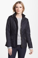 Women's Barbour 'Cavalry' Quilted Jacket Black