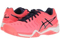 Asics Gel Resolution 7 Diva Pink Indigo Blue White Women's Tennis Shoes