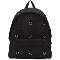 Raf Simons Black Eastpak Edition Padded Loop Quilted Backpack