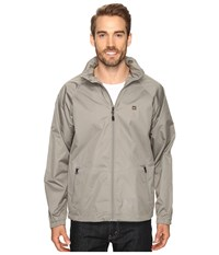 Quiksilver Shell Shock 3 Windbreaker Moon Mist Men's Clothing Gray