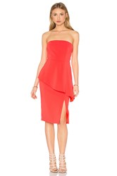 Jay Godfrey Ainge Dress Red