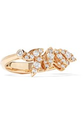 Stephen Webster Hearts On Fire White Kites 18 Karat Rose Gold Diamond Ring