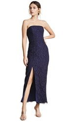 Fame And Partners The Marvel Dress Navy