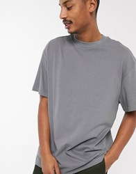Weekday Great T Shirt In Grey