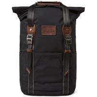 Master Piece Milly Roll Top Backpack Black