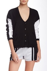 American Retro Charonne Mesh Trim Jacket Black