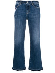 Pinko Margot Cropped Jeans Blue