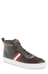 Men's Bally 'Hervey' Leather Sneaker Safari Leather
