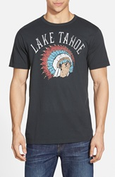 Tailgate 'Lake Tahoe' T Shirt Dark Storm
