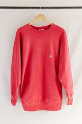 Urban Renewal Vintage Champion Red Sweatshirt Assorted