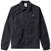 Wood Wood Kael Coaches Jacket Black