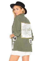 As65 Military Vintage Shirt Green