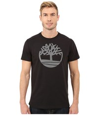 Timberland Kennebec River Tree Logo T Shirt Black Men's T Shirt
